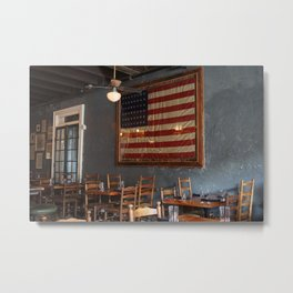 Sylvain's Flag of America Metal Print