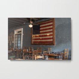 Sylvain's Flag of America Metal Print