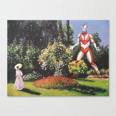 Ultra Garden Canvas Print