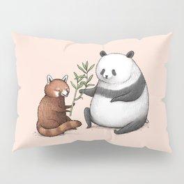 Panda Friends Pillow Sham