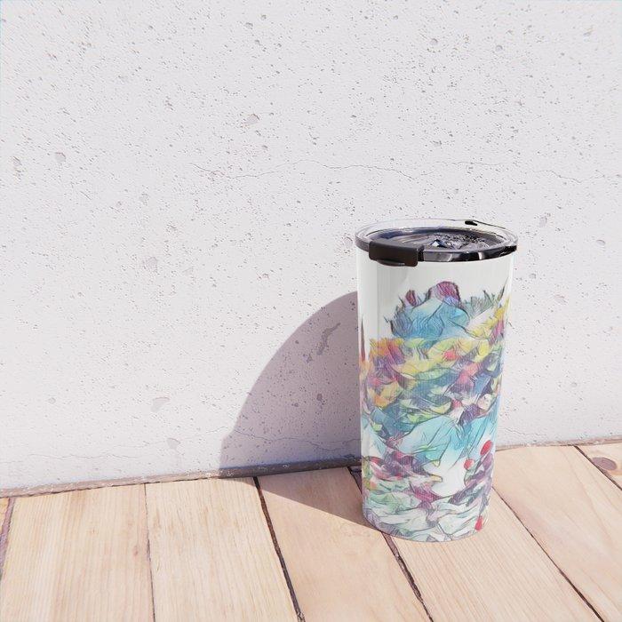 Garden of Colors Travel Mug