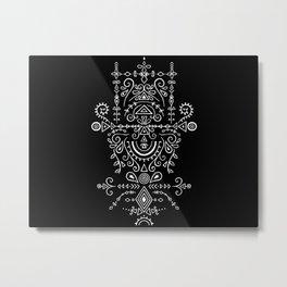 Organic symmetry Metal Print