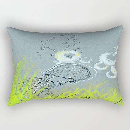 Squid Redone Rectangular Pillow