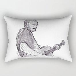 David Gilmour Rectangular Pillow