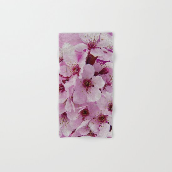 Cherry blossom #6 Hand & Bath Towel