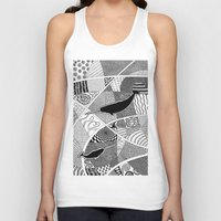 narwhal Tank Tops featuring Narwhal by K J Guindon