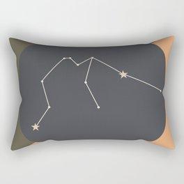 AQUARIUS (MID-CENTURY MODERN) Rectangular Pillow