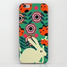 Little bunny in spring iPhone Skin