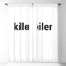 killer Blackout Curtain