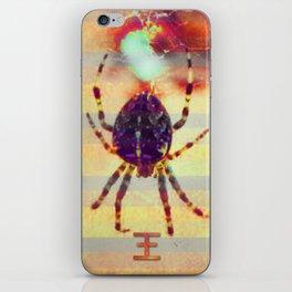Radioactive spider iPhone Skin