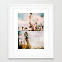 coachella Framed Art Prints featuring Coachella by Tosha Lobsinger is my Photographer