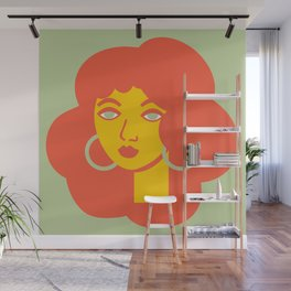 Polly Primrose Wall Mural