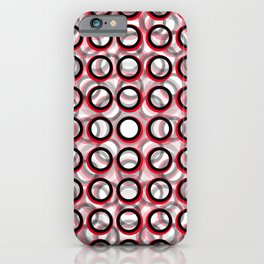 Circles on Circles iPhone Case