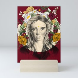 Floral - Slavica Mini Art Print