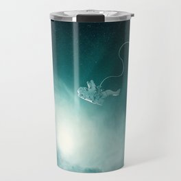 Astronaut Cast Away in Space Travel Mug