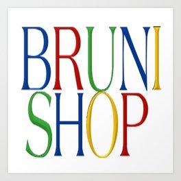 Bruni Shop - 4 Art Print