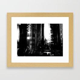 Describe Where You Are _2 Framed Art Print
