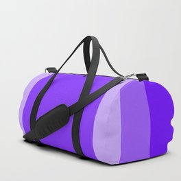 Blue Square Design Duffle Bag