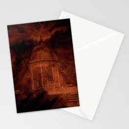 Hold back the nightmare... Stationery Cards
