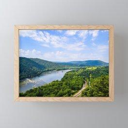 Weaverton Cliff Overlook (Landscape) Framed Mini Art Print