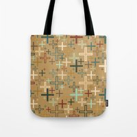 positive Tote Bags featuring positive by Kingu Omega