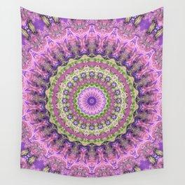 Vibrant Fractal Kaleidoscope 2 Wall Tapestry