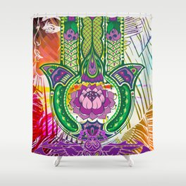 Protection from the Goddess Isis Shower Curtain