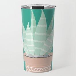 Cactus Suculents Plants Travel Mug