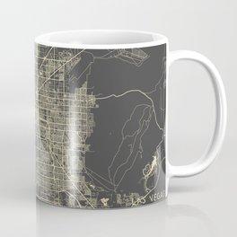 Las Vegas Map #1 Coffee Mug