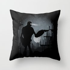 A Friendly Visit Throw Pillow