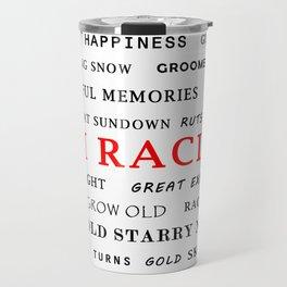Ski Racing Travel Mug