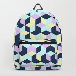 Jagged Colour Jumble Backpack