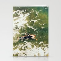 surfer Stationery Cards featuring Surfer  by Ed Pulella
