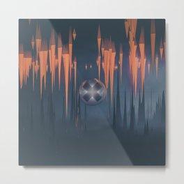temporal underground Metal Print