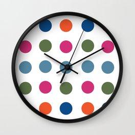 Colorful Regularity Wall Clock