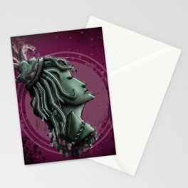 Lady of War Stationery Cards