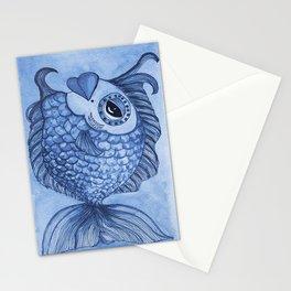 Blue Modesty Stationery Cards