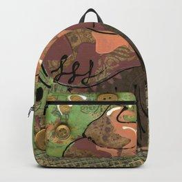 Golden Buttons Backpack