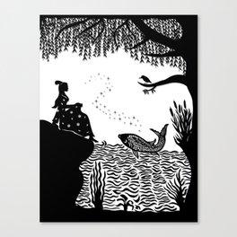 Ye Xian - The Golden Fish Canvas Print