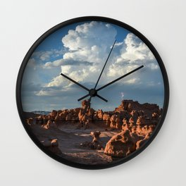 Desert Strike - Goblin Valley Utah Wall Clock