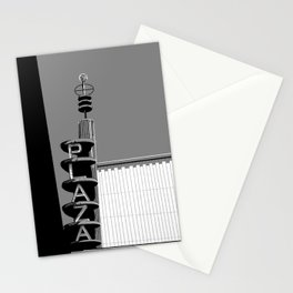 B&W Movie Theater Stationery Cards