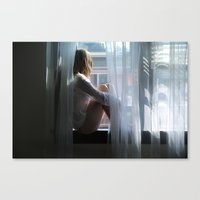 lost in translation Canvas Prints featuring Lost In Translation by Slava Bowman
