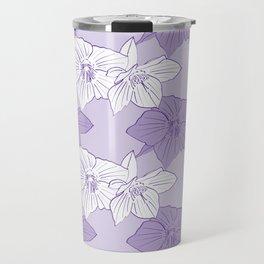 Purple Hellebores Travel Mug