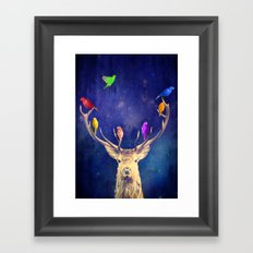 Colour Theory Framed Art Print