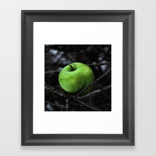 The Poison Apple Framed Art Print