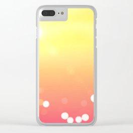sun love Clear iPhone Case