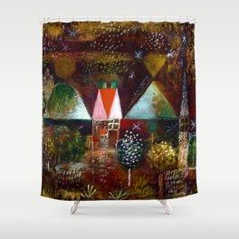Paul Klee Night Feast Shower Curtain