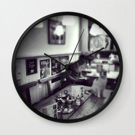 Breakfast in Amsterdam Wall Clock