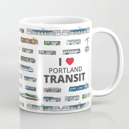 The Transit of Greater Portland Coffee Mug