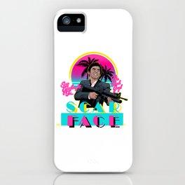 Scarface Miami Vice Mashup iPhone Case